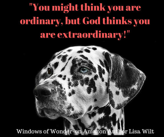 You might think you are ordinary, but He thinks you are extraordinary!-2